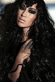 Chana Nguyen model (модель). Photoshoot of model Chana Nguyen demonstrating Face Modeling.Face Modeling Photo #135091