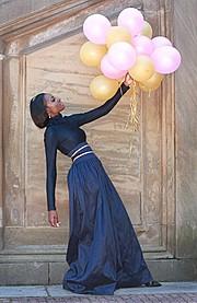 Chanise Sharay Smith model. Photoshoot of model Chanise Sharay Smith demonstrating Fashion Modeling.Fashion Modeling Photo #102804