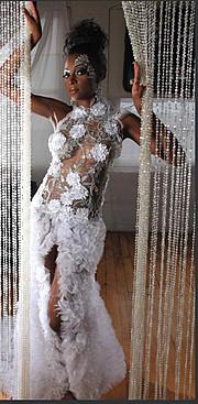 Chanise Sharay Smith model. Photoshoot of model Chanise Sharay Smith demonstrating Runway Modeling.Runway Modeling Photo #102814