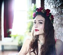 Chantal Lamour model. Photoshoot of model Chantal Lamour demonstrating Face Modeling.Face Modeling Photo #102844