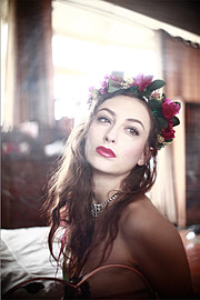 Chantal Lamour model. Photoshoot of model Chantal Lamour demonstrating Face Modeling.Face Modeling Photo #102845