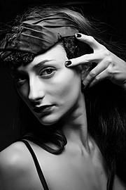 Chantal Lamour model. Photoshoot of model Chantal Lamour demonstrating Face Modeling.Face Modeling Photo #102852