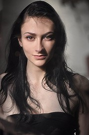 Chantal Lamour model. Photoshoot of model Chantal Lamour demonstrating Face Modeling.Face Modeling Photo #102859