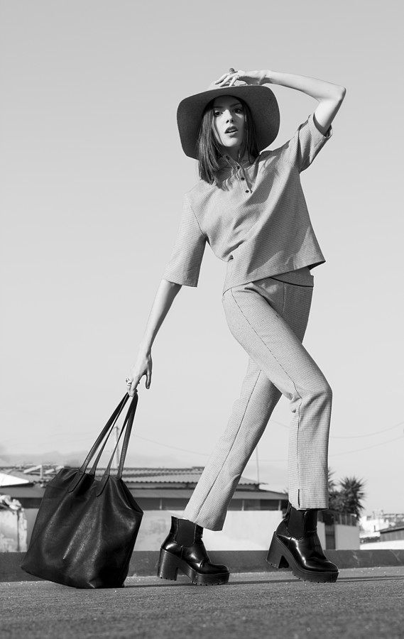 Chara Lampropoulou model (Χαρά Λαμπροπούλου μοντέλο). Photoshoot of model Chara Lampropoulou demonstrating Fashion Modeling.Fashion Modeling Photo #167902