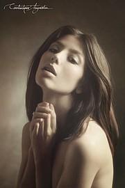 Chara Lampropoulou model (Χαρά Λαμπροπούλου μοντέλο), Constantinos Anagnostou photographer (Κωνσταντίνος Αναγνώστου φωτογράφος). Photoshoot of model Chara Lampropoulou demonstrating Face Modeling.Portrait Photography,Face Modeling Photo #167907