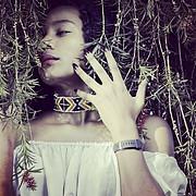 Charity Khamala model. Photoshoot of model Charity Khamala demonstrating Face Modeling.Face Modeling Photo #199564