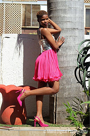 Charmaine Kekana model. Photoshoot of model Charmaine Kekana demonstrating Fashion Modeling.Fashion Modeling Photo #189218