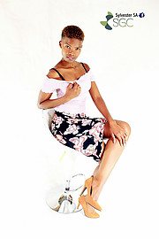Charmaine Kekana model. Photoshoot of model Charmaine Kekana demonstrating Fashion Modeling.Fashion Modeling Photo #189217