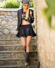 Christiana Karnezi model (Κλεοπάτρα Χριστιάνα Καρνέζη μοντέλο). Photoshoot of model Christiana Karnezi demonstrating Fashion Modeling.Fashion Modeling Photo #188800