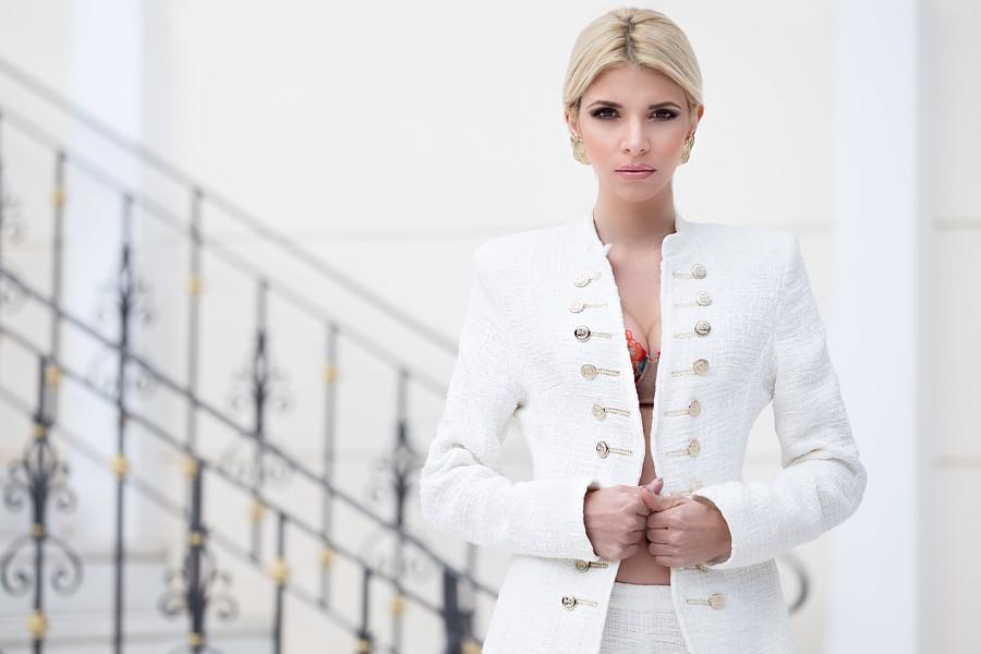 Christiana Karnezi model (Κλεοπάτρα Χριστιάνα Καρνέζη μοντέλο). Photoshoot of model Christiana Karnezi demonstrating Fashion Modeling.designer: Tranoulis fashion athensFashion Modeling Photo #194483