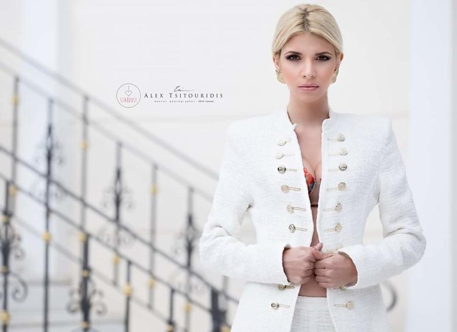 Christiana Karnezi model (Κλεοπάτρα Χριστιάνα Καρνέζη μοντέλο). Photoshoot of model Christiana Karnezi demonstrating Fashion Modeling.Fashion Modeling Photo #223140