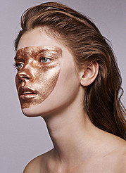 Christina Lutz makeup artist (maquilleur). Work by makeup artist Christina Lutz demonstrating Creative Makeup.Creative Makeup Photo #155306