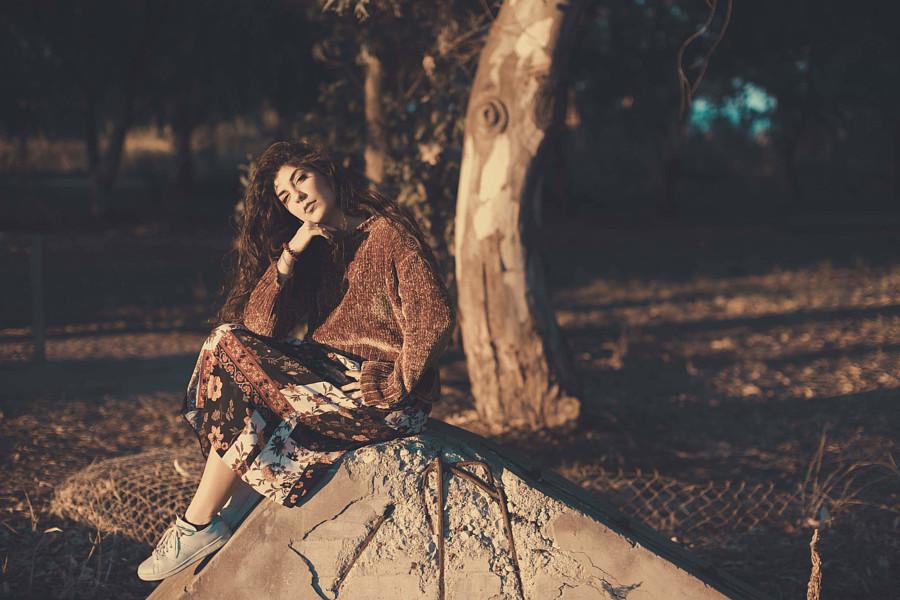 Christina Panagopoulou Μοντέλο