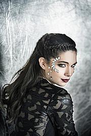 Christina Roussi makeup artist (μακιγιέρ). Work by makeup artist Christina Roussi demonstrating Bridal Makeup.Bridal Makeup Photo #82351