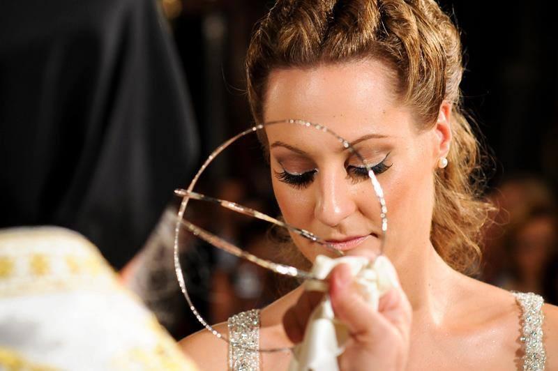 Christina Roussi makeup artist (μακιγιέρ). Work by makeup artist Christina Roussi demonstrating Bridal Makeup.Bridal Makeup Photo #82350