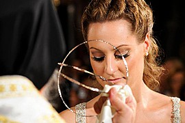 Christina Roussi makeup artist (μακιγιέρ). Work by makeup artist Christina Roussi demonstrating Bridal Makeup.Bridal Makeup Photo #82350