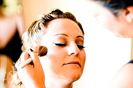 Christina Roussi makeup artist (μακιγιέρ). Work by makeup artist Christina Roussi demonstrating Bridal Makeup.Bridal Makeup Photo #82351