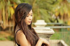 Christine Gonzalez is a filipina model , wants to in hance her career and passion in modeling. She was given a chance to be one of the model