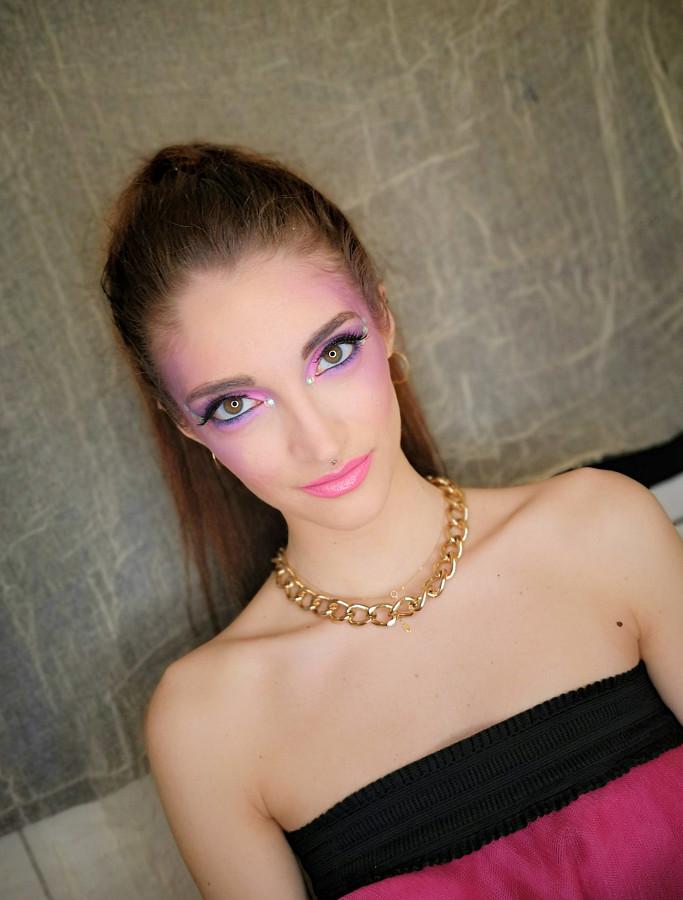 Christine Gravia makeup artist (μακιγιέρ). Work by makeup artist Christine Gravia demonstrating Beauty Makeup.Beauty Makeup Photo #227122