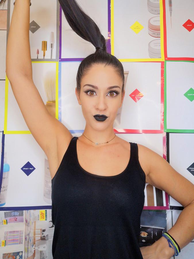 Christine Gravia makeup artist (μακιγιέρ). Work by makeup artist Christine Gravia demonstrating Beauty Makeup.Beauty Makeup Photo #227130
