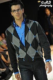 Christophe Daem model. Photoshoot of model Christophe Daem demonstrating Runway Modeling.Runway Modeling Photo #70441