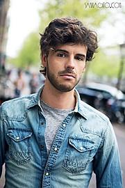 Christophe Daem model. Photoshoot of model Christophe Daem demonstrating Face Modeling.Face Modeling Photo #70443