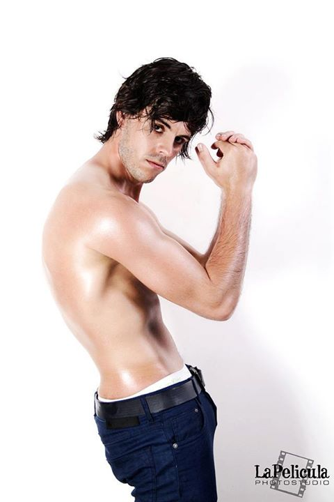 Christophe Daem model. Photoshoot of model Christophe Daem demonstrating Body Modeling.Body Modeling Photo #70458