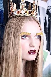 Christos Mazurek makeup artist & hair stylist (μακιγιέρ & κομμωτής). Work by makeup artist Christos Mazurek demonstrating Beauty Makeup in a photoshoot of Daan Broeze - Ace Models - Official.photo: Despina Zitakimakeup & hair : Christos Mazurekmode