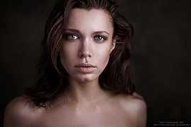 Chucha Babuchina model (модель). Photoshoot of model Chucha Babuchina demonstrating Face Modeling.Face Modeling Photo #103263