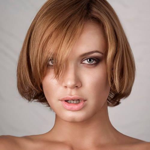 Chucha Babuchina model (модель). Photoshoot of model Chucha Babuchina demonstrating Face Modeling.Face Modeling Photo #103347