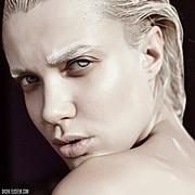 Chucha Babuchina model (модель). Photoshoot of model Chucha Babuchina demonstrating Face Modeling.Face Modeling Photo #151953