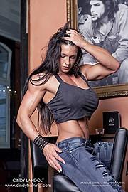 Cindy Landolt fitness model. Photoshoot of model Cindy Landolt demonstrating Fashion Modeling.Fashion Modeling Photo #94908