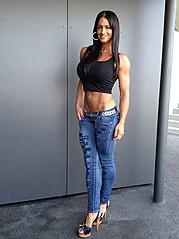 Cindy Landolt fitness model. Photoshoot of model Cindy Landolt demonstrating Fashion Modeling.Fashion Modeling Photo #94909