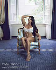 Cindy Landolt fitness model. Photoshoot of model Cindy Landolt demonstrating Body Modeling.LingerieBody Modeling Photo #94916