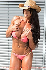 Cindy Landolt is a fitness model and a personal trainer located in Wollerau, Zurich, Switzerland. As a model she is experienced in photo-sho