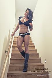Cindy Landolt fitness model. Photoshoot of model Cindy Landolt demonstrating Fashion Modeling.Fashion Modeling Photo #94929