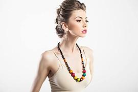Claudia Marusanici model & photographer. Photoshoot of model Claudia Marusanici demonstrating Face Modeling.Face Modeling Photo #131737