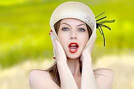 Claudia Marusanici model & photographer. Photoshoot of model Claudia Marusanici demonstrating Face Modeling.Face Modeling Photo #131743