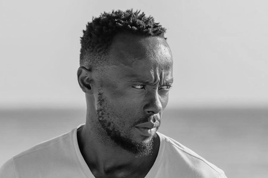 Cliff Gambo model. Photoshoot of model Cliff Gambo demonstrating Face Modeling.Face Modeling Photo #201452
