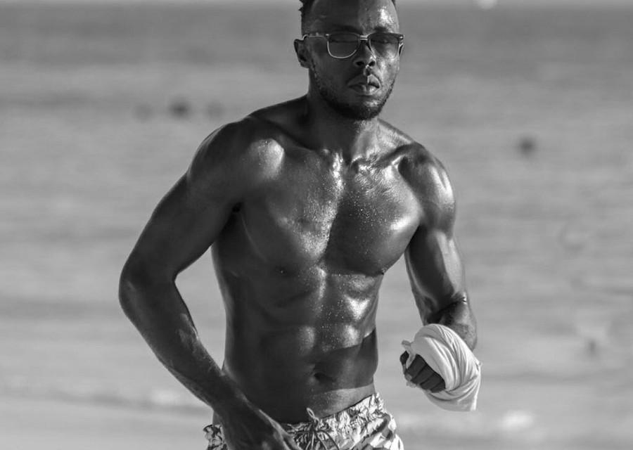 Cliff Gambo model. Photoshoot of model Cliff Gambo demonstrating Body Modeling.Body Modeling Photo #201453