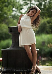 Cristiana Giachetti model. Photoshoot of model Cristiana Giachetti demonstrating Fashion Modeling.Fashion Modeling Photo #85059