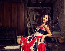 Cristiana Giachetti model. Photoshoot of model Cristiana Giachetti demonstrating Fashion Modeling.Fashion Modeling Photo #85069