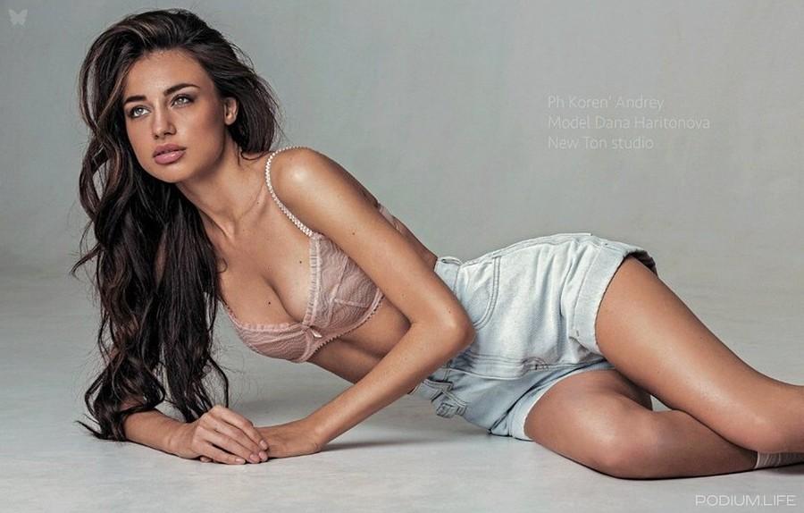 Dana Haritonova model (модель). Modeling work by model Dana Haritonova. Photo #192186