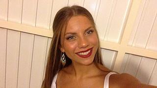 Danae Melissinou (Δανάη Μελίσσηνου) face. Photoshoot of model Danae Melissinou demonstrating Face Modeling.Face Modeling Photo #190648