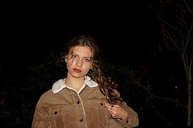 Danae Melissinou (Δανάη Μελίσσηνου) face. Photoshoot of model Danae Melissinou demonstrating Face Modeling.Face Modeling Photo #192998