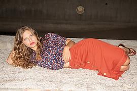 Danae Melissinou (Δανάη Μελίσσηνου) face. Photoshoot of model Danae Melissinou demonstrating Fashion Modeling.Fashion Modeling Photo #201870