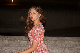 Danae Melissinou (Δανάη Μελίσσηνου) face. Photoshoot of model Danae Melissinou demonstrating Face Modeling.Face Modeling Photo #201872