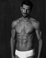 Danail Tsvetkov model (μοντέλο). Photoshoot of model Danail Tsvetkov demonstrating Body Modeling.Minerva Underwear CampaignBody Modeling Photo #227678