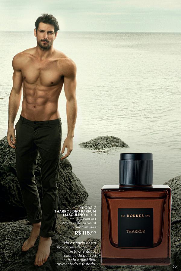 Danail Tsvetkov model (μοντέλο). Photoshoot of model Danail Tsvetkov demonstrating Commercial Modeling.Korres Parfum Campaign in BrazilCommercial Modeling Photo #227679