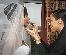 Daneille Mattis makeup artist. Work by makeup artist Daneille Mattis demonstrating Bridal Makeup.Bridal Makeup Photo #81818